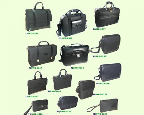 Cow leather with nylon:men's bags-hand bags/attache case/computer bags/portfolio