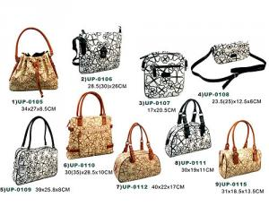PU/PVC leather:Hand bags(fashion lady bags)