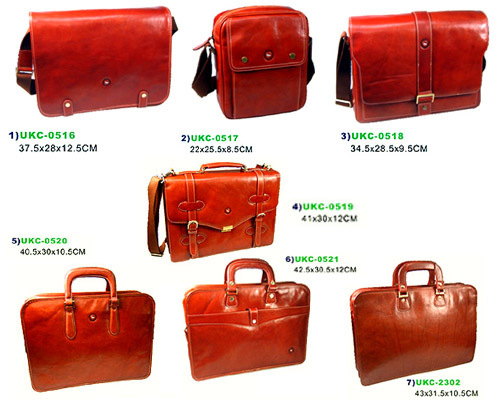 100% Italy CDC cow leather :Men's bags /Hand bags/attache case/portfolio