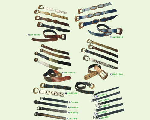 PVC/Cow Leather: Men's & Women's Belts