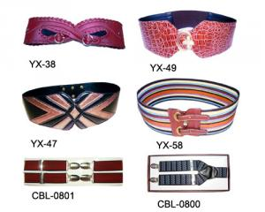 PVC/PU: Lady Belt/Men's Hanging Belt