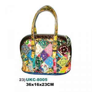 US DUCK UKC-8005 Leather Stitching Handbag